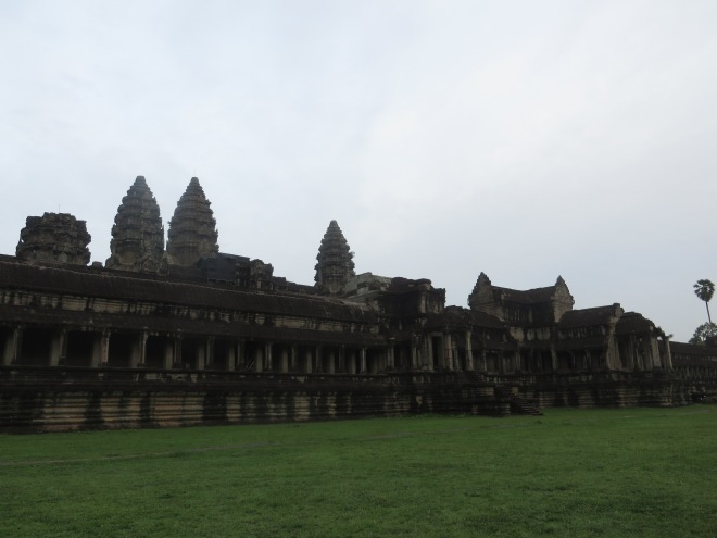 View from the back of Angkor Wat