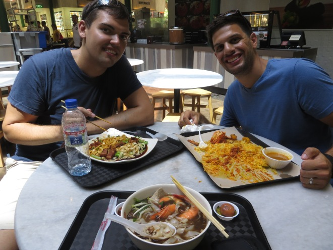 Two Chinese dishes and my Indian curry