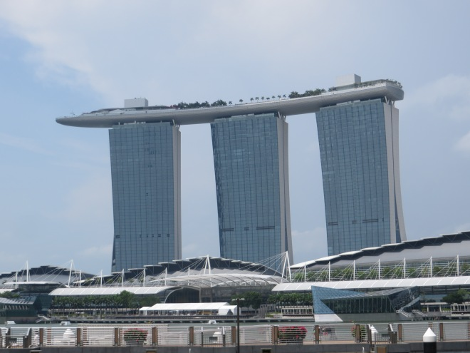 The Marina Bay Sands Hotel