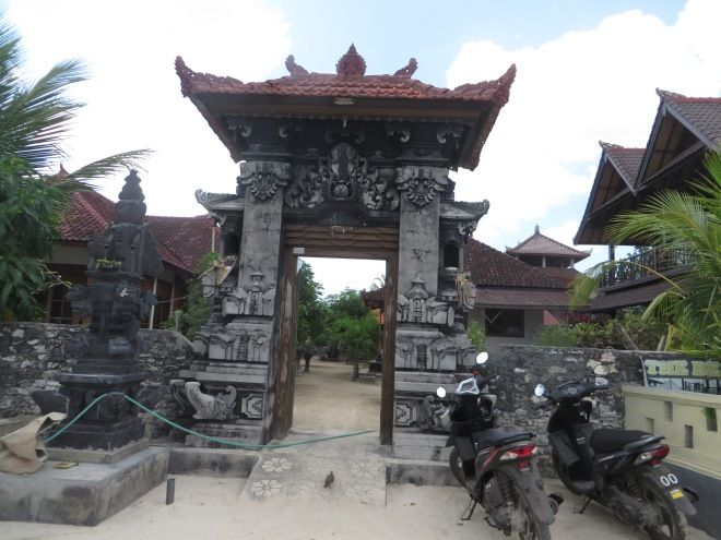 Local temple in town