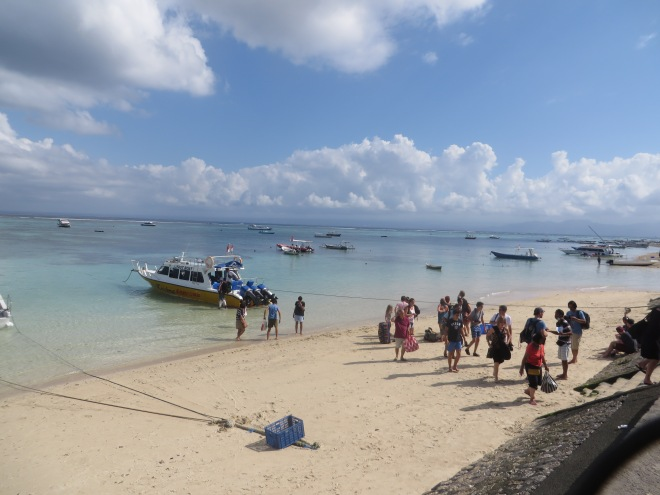 Our 'fast boat' to Gili Air