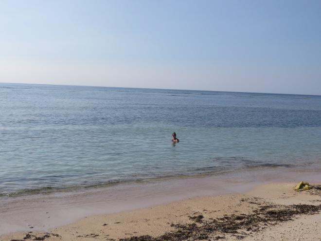 Beach on Gili Air- laid back and full of sunshine