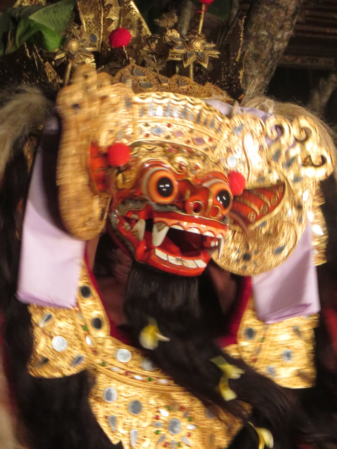 Famous Bali mask