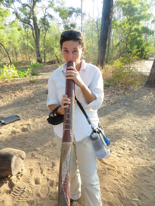 Didgeridoo practice