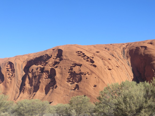 The many faces of Uluru