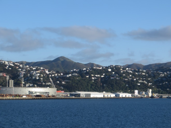 Leaving Wellington