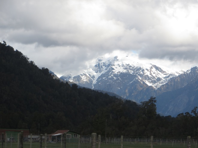 Sighting of the Southern Alps